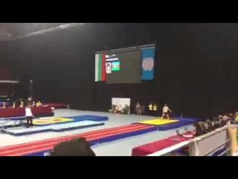 Azərbaycan gimnastı dünya çempionu oldu