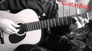 Ария - Беспечный Ангел на гитаре соло перебор