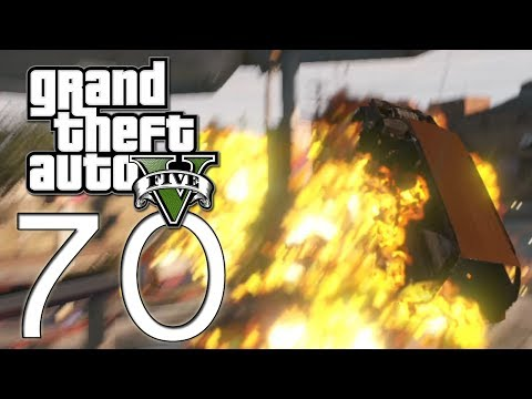 Grand Theft Auto V - E70 - Trains and Cars (GTAV)