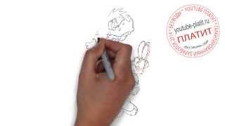 Мультфильм Ну погоди  Как быстро и просто нарисовать мультфильм Ну погоди(Ну погоди. Как правильно нарисовать волка или зайца из мультфильма Ну погоди поэтапно. На самом деле легко..., 2014-09-11T16:18:36.000Z)