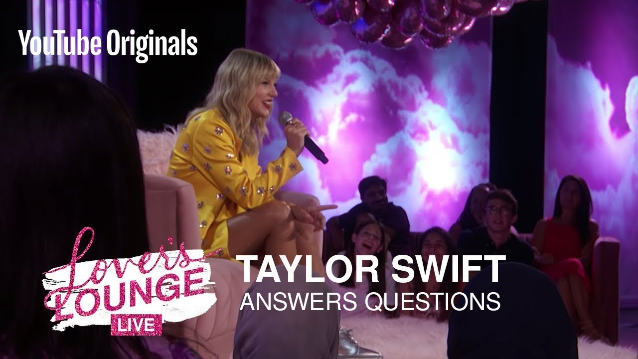 Taylor Swift Answers Questions From Fans From Lover's Lounge Live