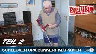 SCHLECKER OPA BUNKERT KLOPAPIER | TEIL 2 - DIE HOMESTORY