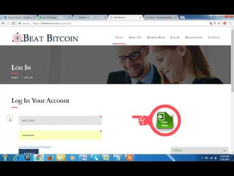 How to registration in Beat Bitcoin