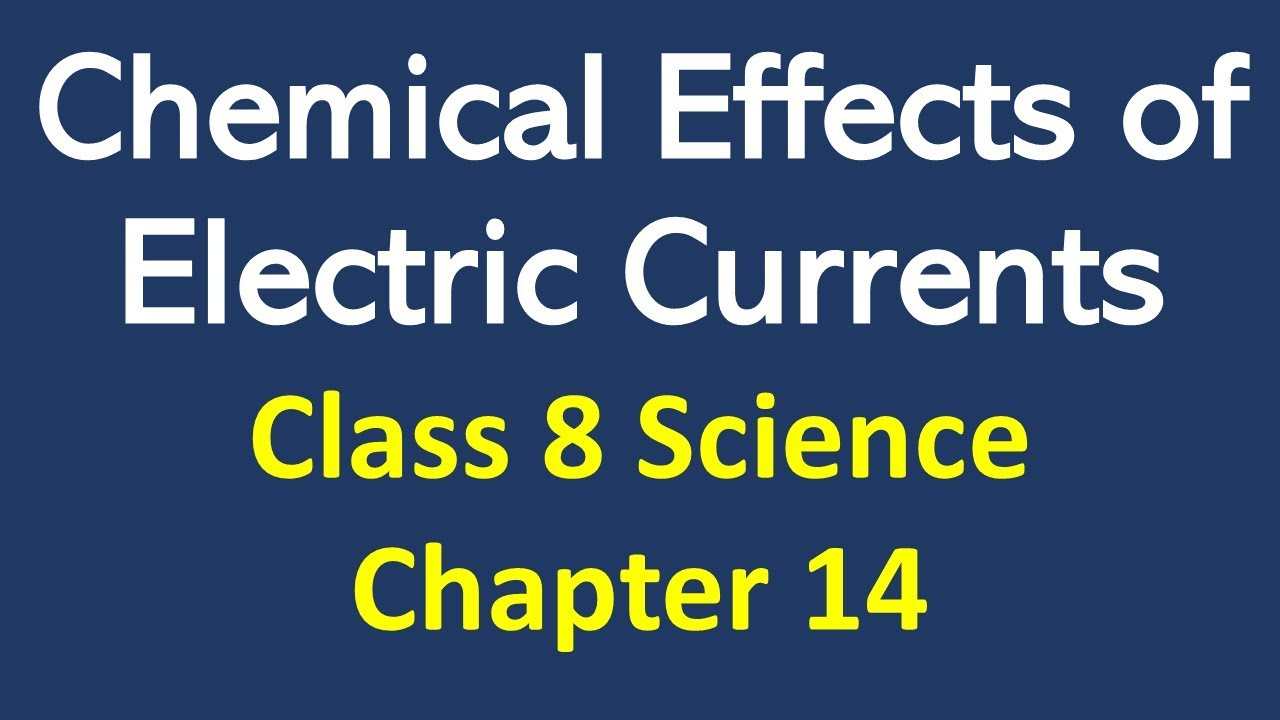 Chemical Effects of Electric Current Class 8 Notes, Question