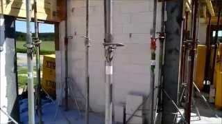 Przygotowanie, układanie i zalewanie stropu typu filigran