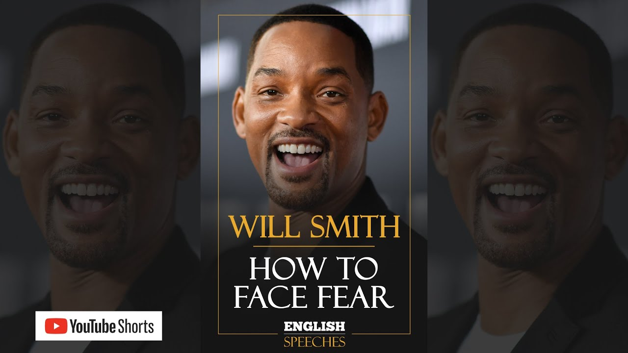 #shorts | WILL SMITH: How to Face Fear (English Subtitles)