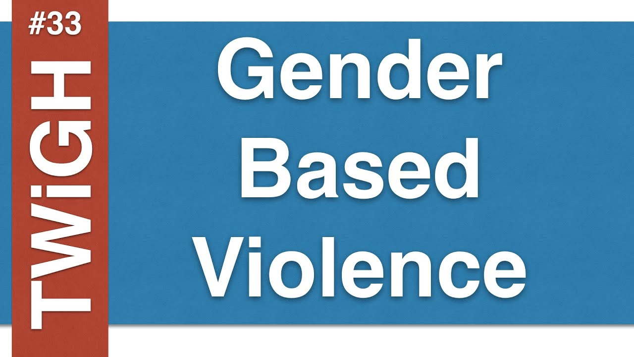 gender based violence The world bank group and sexual violence research initiative (svri) today awarded us$11 million to 11 research teams from around the world for innovations to prevent and respond to gender-based violence (gbv.