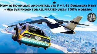 How to download and install GTA 5 Doomsday Heist v1.42 + New ScriptHook Easy way to update your GTA5