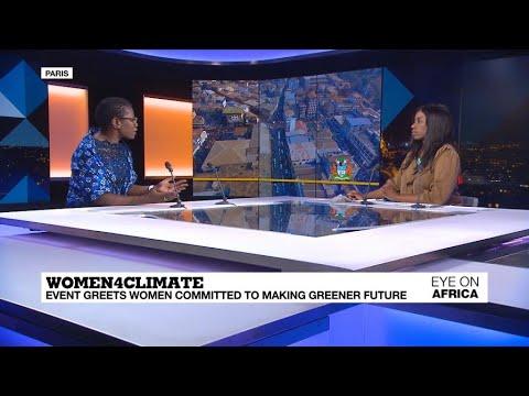 فرانس 24:Women4Climate: Paris event greets women committed to making a greener future