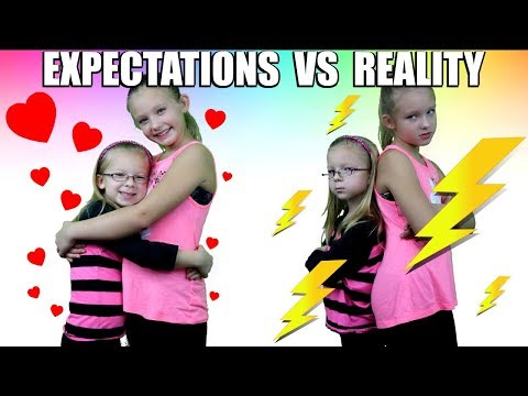 EXPECTATIONS vs REALITY of Having a Sibling All Expectations vs Reality In One