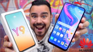 BARATO COM CÂMERA POP UP e 128GB ! HUAWEI Y9 PRIME 2019