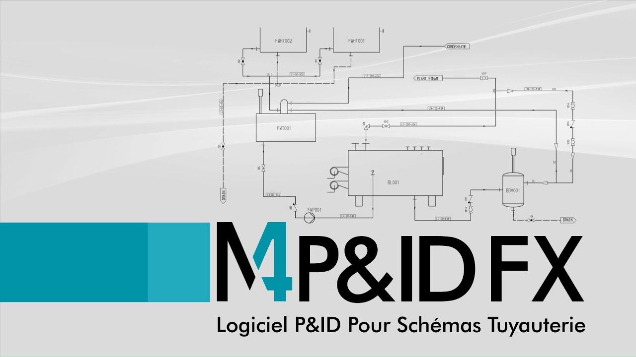 M4 P Id Fx Logiciel P Id Pour Schémas Tuyauterie