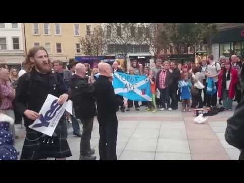 Dundee Post independence referendum Party Part 1