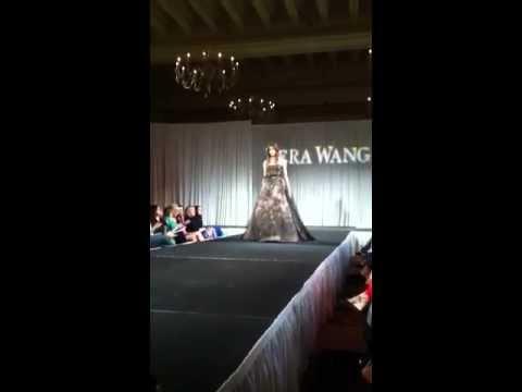 Kalia Prescott Walks Vera Wang Runway