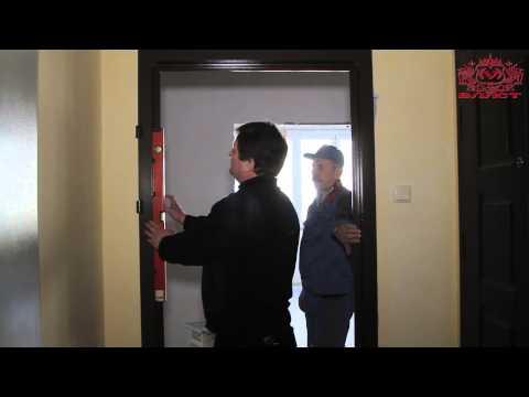 Монтаж и установка металлической двери