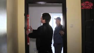 видео Дверь входная в бревенчатый дом: особенности самостоятельной установки
