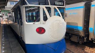 【後面展望】キハ32系 JR四国予土線 窪川〜宇和島