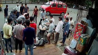 vasai evershine Dreamland bar ke pass bike accident