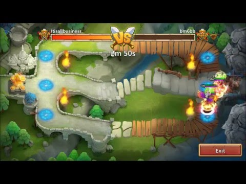 Candy Kane New Hero In Top 30 Arena IOS Castle Clash