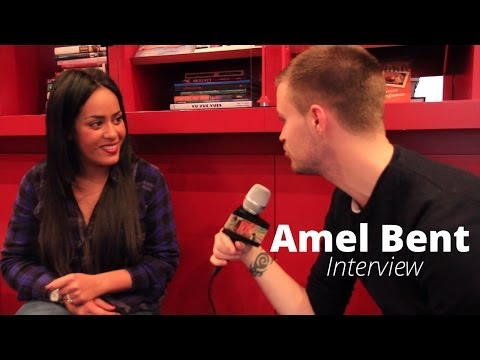Amel Bent en interview pour I Live U
