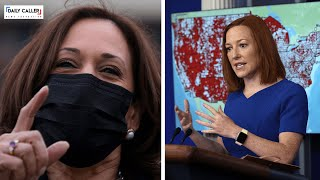 Where Is Harris? Psaki Questioned Over When The VP Will Visit The Border