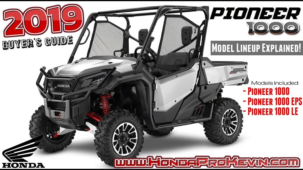 honda pioneer  model lineup differences explained utv buyers guide talon sport sxs