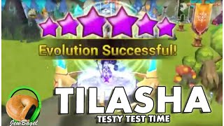 SUMMONERS WAR : Tilasha Testy Test Time - Dark Undine the Half Naked Diarrhea Queen