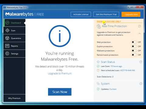 How To Use Malwarebytes Anti-Malware (FREE)