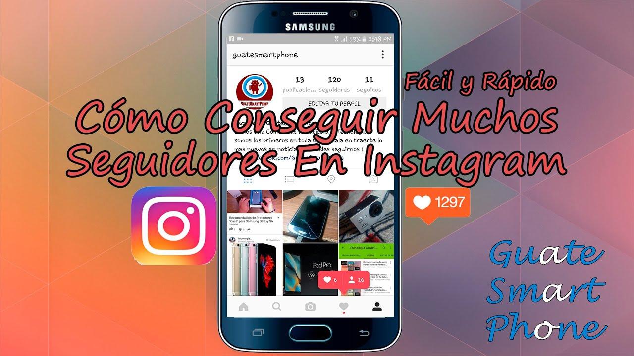 truco para tener mas seguidores en instagram para android 2015