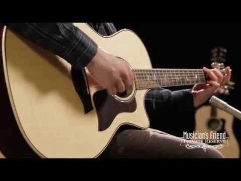 Taylor 814ce Brazilian Rosewood Cutaway Grand Auditorium Acoustic-Electric Guitar Natural