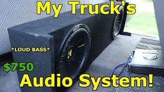 My Subwoofer Setup! *LOUD BASS*
