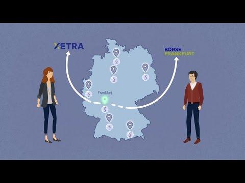Die Handelsplätze der Deutschen Börse