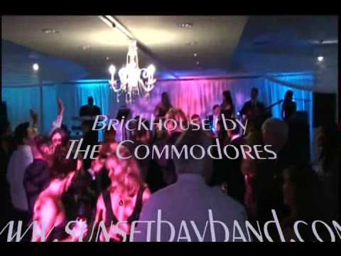 Florida party band Sunsetbayband, FL wedding band in Miami live music