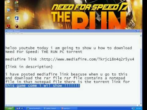 Need For Speed :The RUN PC torrent
