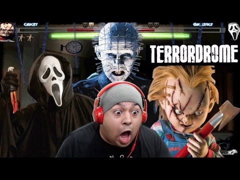 CHUCKY B#TCH ASS VS GHOSTFACE!! [TERRORDROME]