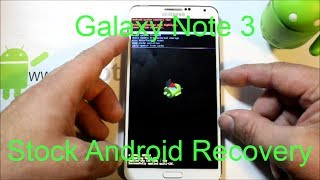 Samsung Galaxy Note Stock Recovery Factory Reset
