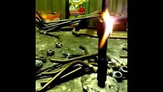 пайка латунью толстых металлов(Это видео создано с помощью видеоредактора YouTube (http://www.youtube.com/editor), 2015-03-14T12:35:46.000Z)