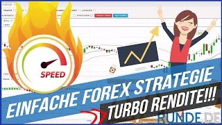 Einfache Forex Strategie - TURBO RENDITE!!!
