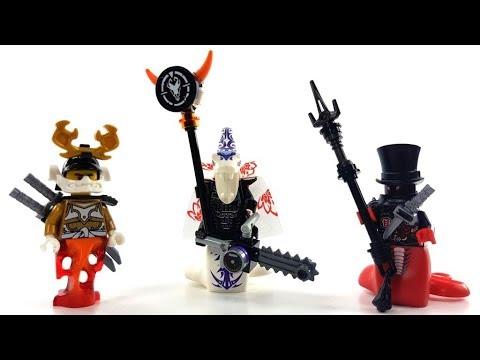 Die ersten 15 LEGO Ninjago Custom Minifiguren von Zuschauern  Folge 2  YouTube