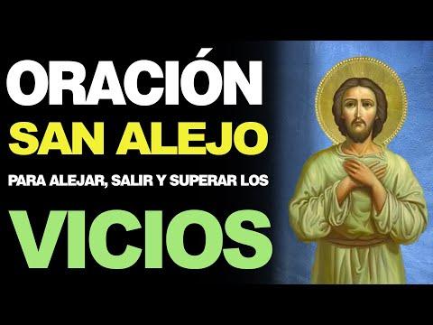 🙏 Poderosa Oración a San Alejo para ALEJAR, SALIR Y SUPERAR LOS VICIOS 🙇