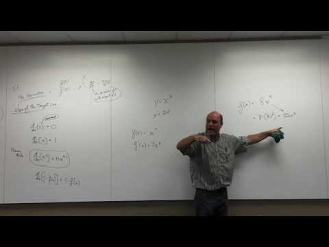 Calculus 1 Ch 3.2 Derivative Rules part 1