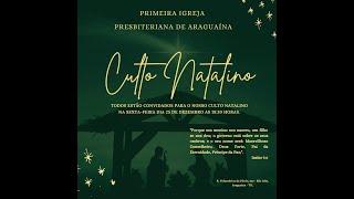 """Culto Natalino - """"Quem é Jesus?"""" - 25/12/2020"""