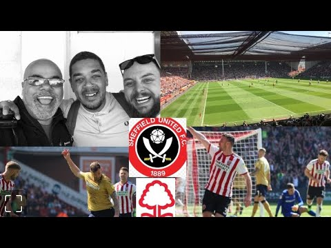 SHEFFIELD UNITED 2-0 NOTTINGHAM FOREST | TEN MEN FOREST SUFFERED AWAY AGAINST HIGH FLYING BLADES