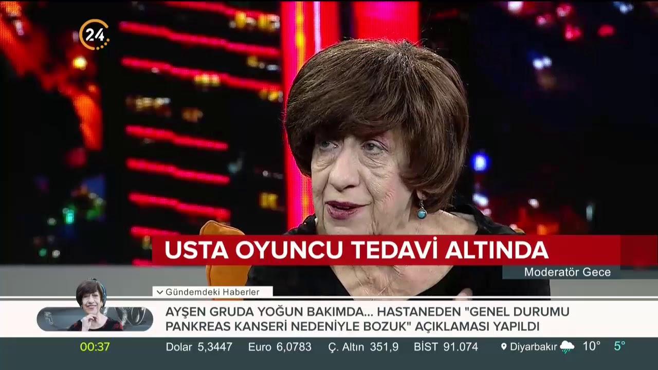 Usta oyuncu Ayşen Gruda'nın sağlık durumu nasıl?