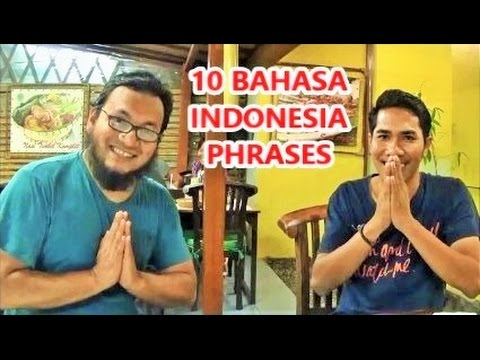 10 Bahasa Phrases you must Learn before visiting Indonesia