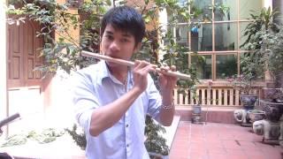 học thổi sáo p8 : kỹ thuật ngắt hơi giữa chừng