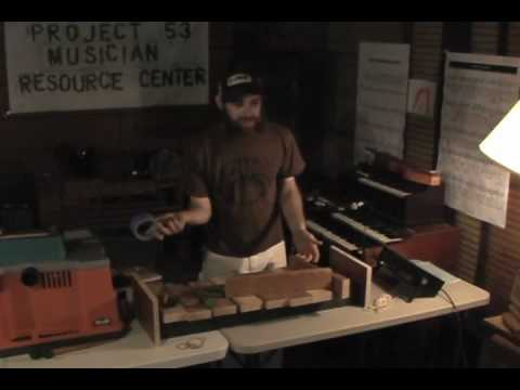 How To Make 2x4 Xylophone Part Of