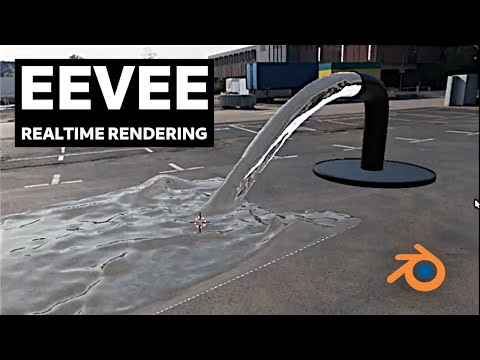 Blender Eevee - Rendering Fluid Simulation in Real-Time