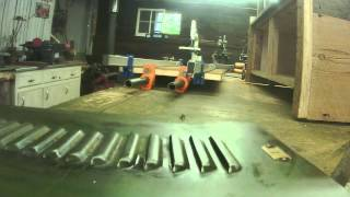 Upcycled Salvaged Locker Door - Tim Sway Perspectives