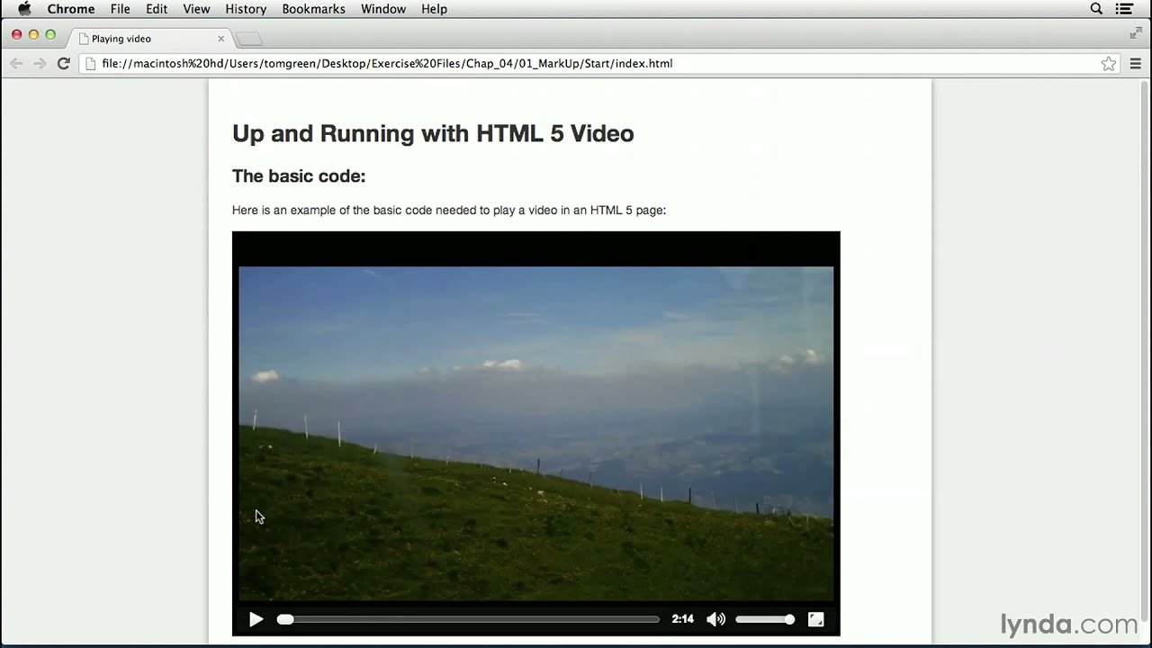 HTML5 video tutorial: Exploring the HTML5 video tag ...